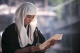 大河ドラマ『おんな城主 直虎』第11回より。次郎法師(柴咲コウ)のもとに、元康からお礼の品が届く(C)NHK