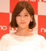 『non-no創刊45周年記念イベントファイナル』に登場した渡邉理佐 (C)ORICON NewS inc.