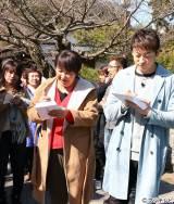 俳句の題材を求めて春の鎌倉を訪れた「おじゃMAP!!」一行