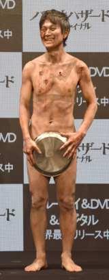 裸芸で一般人への注意喚起をしたアキラ100% (C)ORICON NewS inc.