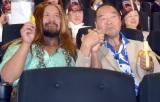 映画『キングコング 髑髏島の巨神』4DX試写会イベントに参加した(左から)真壁刀義、ガッツ石松 (C)ORICON NewS inc.