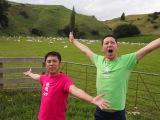 東野幸治と岡村隆史による旅番組『東野・岡村の旅猿 プライベートでごめんなさい…』「シリーズ11」(C)日本テレビ