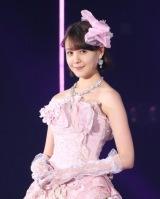 かわいらしいピンク色のドレスで登場したトリンドル玲奈(撮影:片山よしお) (C)oricon ME inc.