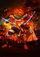 7月放送開始予定のアニメ『活撃 刀剣乱舞』(C)Nitroplus・DMM GAMES/「活撃 刀剣乱舞」製作委員会