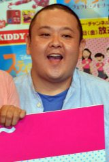 『スティッチ〜パンサーデザインアイテム〜』発売記念イベントに出席したジューシーズの赤羽健一 (C)ORICON NewS inc.