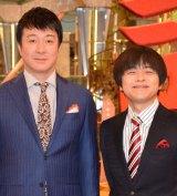 (左から)加藤浩次、バカリズム (C)ORICON NewS inc.