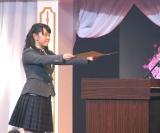 MC委員長の黒澤美澪奈に卒業証書を授与=『The Road to Graduation 2016 Final 〜さくら学院2016年度 卒業〜』(C)ORICON NewS inc.