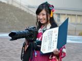 日本大学芸術学部に通い4年で卒業したことを初公表したももいろクローバーZの有安杏果。写真学科を専攻(C)ORICON NewS inc.