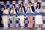 (左から)吉田羊、東尾理子、前田典子、金子貴俊、小松菜奈 (C)ORICON NewS inc.