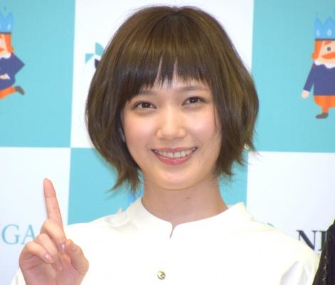 ニチガスの新CM記者発表会に出席した本田翼 (C)ORICON NewS inc.