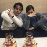 柳楽優弥(左)の誕生日を祝福した二階堂ふみ(写真は公式インスタグラムより)
