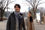 22日に放送される日本テレビ系連続ドラマ『東京タラレバ娘』第6話に出演する(左から)田中圭、大島優子 (C)日本テレビ
