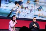 プロジェクトが発表された『AnimeJapan 2017』ステージイベント(C)2017 松風工房/ポニーキャニオン
