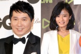 TBSのスポーツ番組『S☆1』を卒業した(左から)田中裕二、小島瑠璃子(C)ORICON NewS inc.