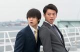 日本テレビ系連続ドラマ『ラストコップ』第7話に出演する(左から)窪田正孝、竹内涼真 (C)日本テレビ