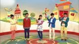 NHK・Eテレ『おかあさんといっしょ』3月30日放送の最後に、新旧のお兄さんがスタジオに出演(C)NHK