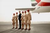 エミレーツ航空では今月26日より成田−ドバイ路線にエアバスA380型機を導入した