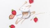 苺の王様「あまおう」配合!オーガニックのクッションファンデ登場/(税抜/リフィル2800円、コンパクト850円)