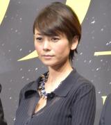 映画『孤狼の血』の製作発表会見に出席した真木よう子 (C)ORICON NewS inc.