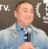 『AbemaTV開局1周年お祝い会』に出席した山本圭壱 (C)ORICON NewS inc.