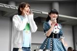 新加入した大分県代表の山田杏華(右)(C)AKS