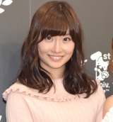 『AbemaTV開局1周年お祝い会』に出席した柴田阿弥 (C)ORICON NewS inc.