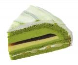 『抹茶と黒みつのケーキ』(453円)