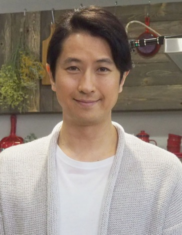 谷原章介=TBS『谷原章介の25時ごはん』の収録 (C)ORICON NewS inc.