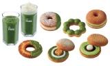『祇園辻利 抹茶スイーツプレミアム』はドーナツ6種、ドリンク2種の全8種類を展開