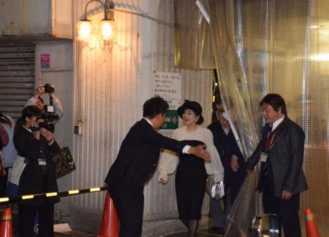 コンサート『スクリーン・ミュージックの宴』に出演し、会場を後にする桜田淳子 (C)ORICON NewS inc.