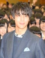 映画『ReLIFE リライフ』高校サプライズ訪問イベントに登場した中川大志 (C)ORICON NewS inc.