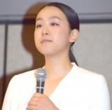 会見の終わりには目に涙をためた浅田真央 (C)ORICON NewS inc.