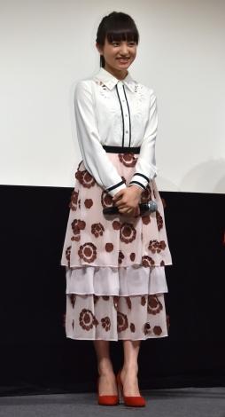"""清原果耶=映画『3月のライオン』""""愛の後編""""特別試写会 (C)ORICON NewS inc."""