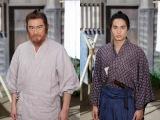NHK・BSプレミアムのBS時代劇『赤ひげ』11月3日スタート。赤ひげ役は船越英一郎(左)、青年医師役は中村蒼(右)(C)NHK
