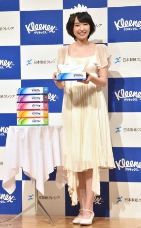 『クリネックス 新ブランド・新CM発表会』に出席した新垣結衣 (C)ORICON NewS inc.