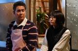 『逃げるは恥だが役に立つ』に出演する(左から)宇梶剛士、新垣結衣 (C)TBS