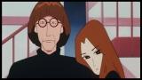 『映画クレヨンしんちゃん 襲来!! 宇宙人シリリ』(公開中)にオトナ帝国の首謀者・ケン&チャコもどこかにいるよ。画像は『嵐を呼ぶ モーレツ!オトナ帝国の逆襲』(2001年)より