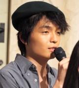 連続テレビ小説『ひよっこ』の新キャスト発表会見に出席した岡山天音 (C)ORICON NewS inc.