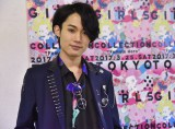 『第24回 東京ガールズコレクション 2017 SPRING/SUMMER』に登場した花沢将人 (C)ORICON NewS inc.