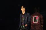 『第24回 東京ガールズコレクション 2017 SPRING/SUMMER』に登場した花沢将人 (C)山口比左夫