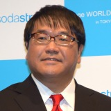 『sodastream cage WORLD tour 2017 in TOKYO』に参加したカンニング竹山 (C)ORICON NewS inc.
