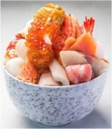 海鮮丼(2700円/各日10名限定)/松坂屋上野店/写真は通常バージョン