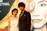 『第19回ウディネ・ファーイースト映画祭』に参加した(左から)上戸彩、斎藤工