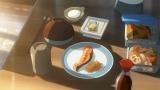 映画『君の名は。』より。宮水家の朝食(シャケ)(C)2016「君の名は。」製作委員会