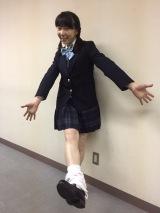 テレビ朝日系ドラマ『女囚セブン』に出演する平岩紙が回想シーンで制服の女子高校生として登場(C)テレビ朝日