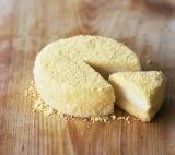ルタオのチーズケーキ『ドゥーブルフロマージュ』(税込価格:1728円)。口どけのよさと濃厚なミルク感、上品な甘さが人気