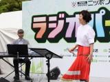 ニッポン放送リスナー感謝イベントで『オールナイトニッポン MUSIC 10』公開収録でミニライブを披露した森山良子