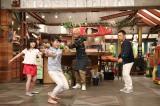 フィギュアスケートのジャンプの仕方を岡村隆史らに教えるが…(C)関西テレビ