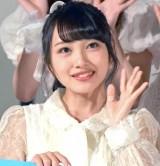 AKB48の48thシングル「願いごとの持ち腐れ」のミュージックビデオ先行上映会に出席した向井地美音 (C)ORICON NewS inc.