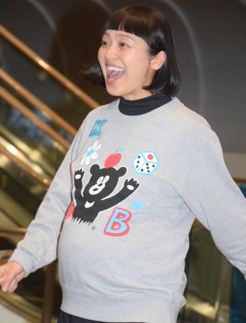 金田朋子妊娠8ヶ月